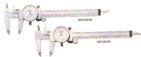 Mitutoyo Dial Calipers, vernier dial calipers