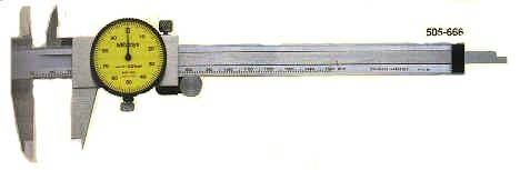 dial calipers 1mm