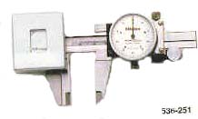 Mitutoyo dial type low force calipers for soft rubbers, vulcanized rubbers, ploymers, etc.