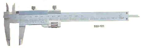 vernier calipers with fine adjustment